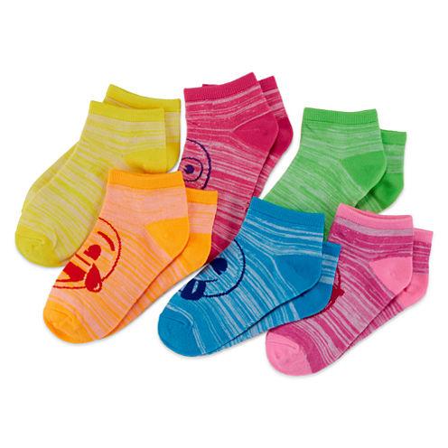 Emoji 6-pk. Space-Dyed Socks