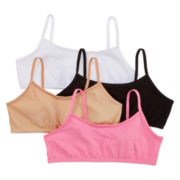Maidenform 4-pk. Pink, Black and Nude Crop Bras