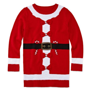 jcpenney.com | Total Girl® Christmas Tunic - Girls 7-16 and Plus