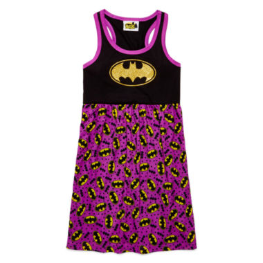 jcpenney.com | AME Batman Sleeveless Nightshirt - Girls 7-20