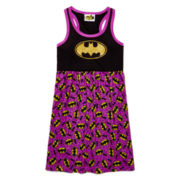 AME Batman Sleeveless Nightshirt - Girls 7-20