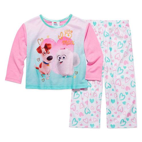 2-pc. Secret Life of Pets Sleepwear Set - Girls
