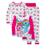 4-pc. My Little Pony Sleepwear Set - Girls