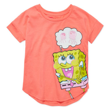 jcpenney.com | SpongeBob Short-Sleeve Jelly Tee - Preschool Girls 4-6x