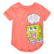 SpongeBob Short-Sleeve Jelly Tee - Preschool Girls 4-6x