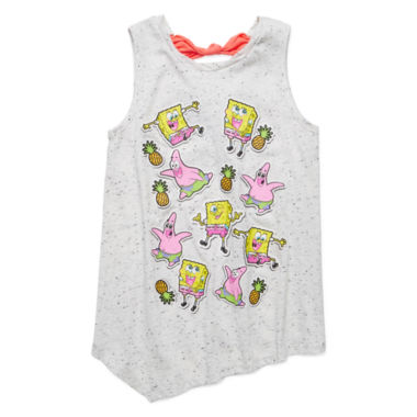 jcpenney.com | SpongeBob Stickers Tank Top - Preschool Girls 4-6x