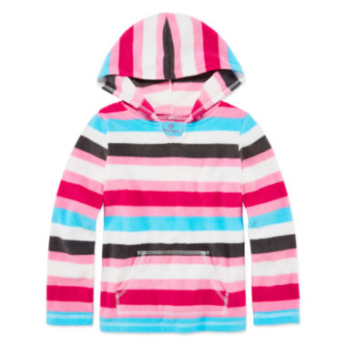 jcpenney.com | Okie Dokie® Comfy Fleece Hoodie - Toddler Girls 2t-5t