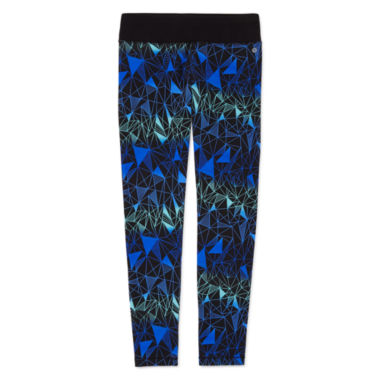 jcpenney.com | Xersion™ Holiday-Print Yoga Leggings - Girls 7-16 and Plus