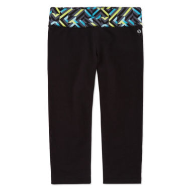 jcpenney.com | Xersion™ Solid Yoga Capris - Girls 7-16 and Plus