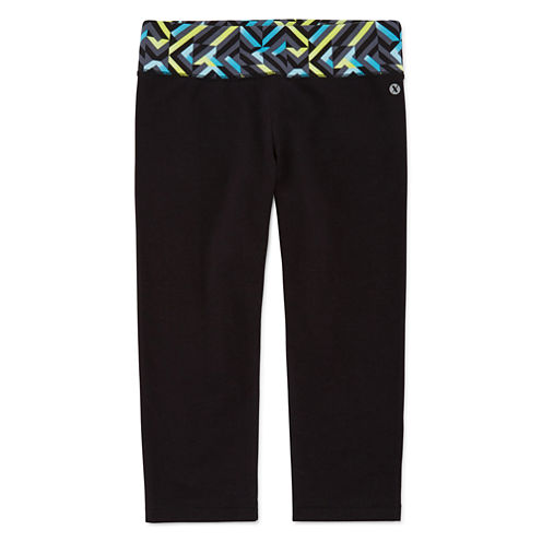 Xersion™  Yoga Capri Leggings - Girls 7-16 and Plus