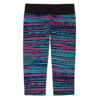 jcpenney.com | Xersion™ Printed Yoga Capris - Girls 7-16 and Plus