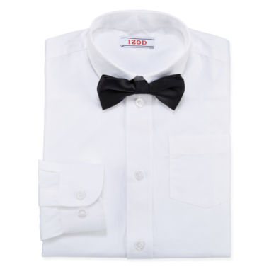 jcpenney.com | IZOD® Fashion Dress Shirt & Bow Tie Set - Boys 4-20