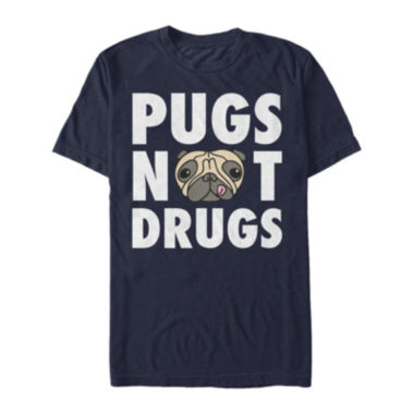 jcpenney.com | Pugs Not Drugs Short-Sleeve Tee
