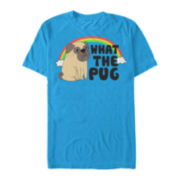 What the Pug Short-Sleeve Tee