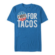 Vote Tacos Short-Sleeve Cotton Tee