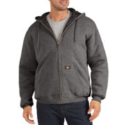 Dickies® Heavyweight Quilted Fleece Hoodie - Big & Tall