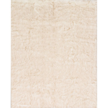 jcpenney.com | Loloi Faux Fur Rectangular Rug