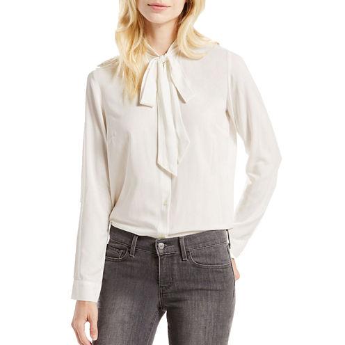 Levi's® Long-Sleeve Bowtie Shirt