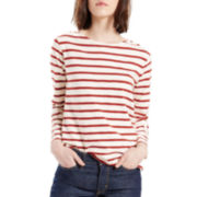 Levi's® Long-Sleeve Sailor Knit Shirt