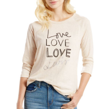jcpenney.com | Levi's® Long-Sleeve Raglan Shirt