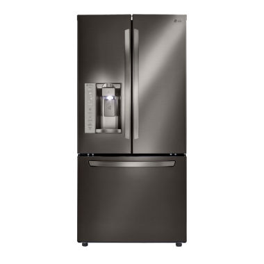 jcpenney.com | LG 24.2 cu.ft. 3-Door French Door Refrigerator with Ice and Water Dispenser
