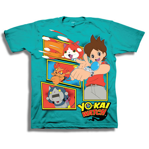 Short Sleeve T-Shirt-Preschool Boys