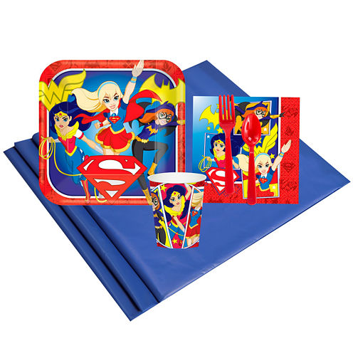 DC Super Hero Girls 8 Guest Party Pack