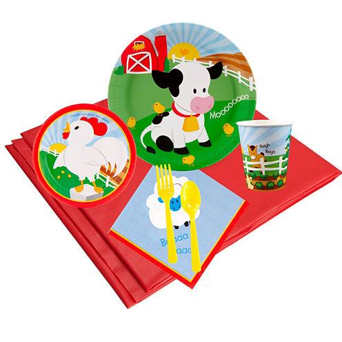 Barnyard 16 Guest Party Pack