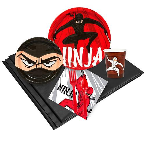 Ninja Warrior 24 Guest Party Pack