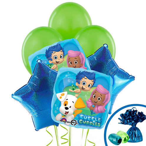 Bubble Guppies Balloon Bouquet