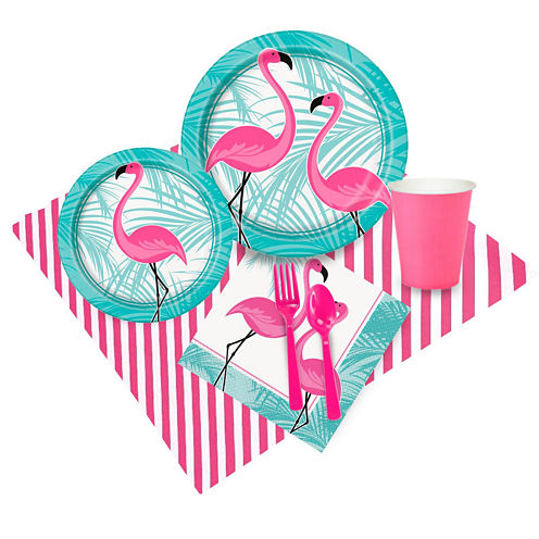 Pink Flamingo Party 16 Guest Party Pack