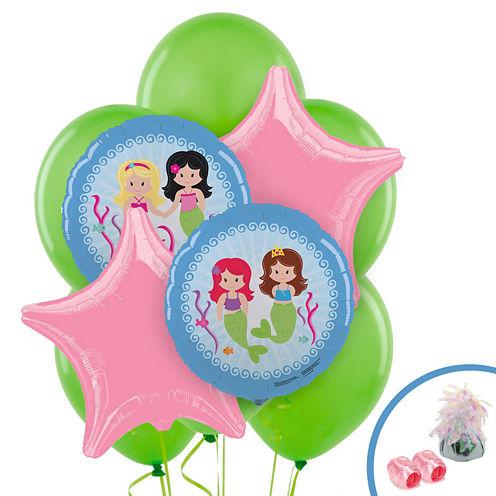 Mermaids Foil Balloon Bouquet