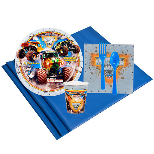 Monster Jam 3D 8 Guest Party Pack