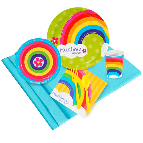 Rainbow Wishes 24 Guest Party Pack