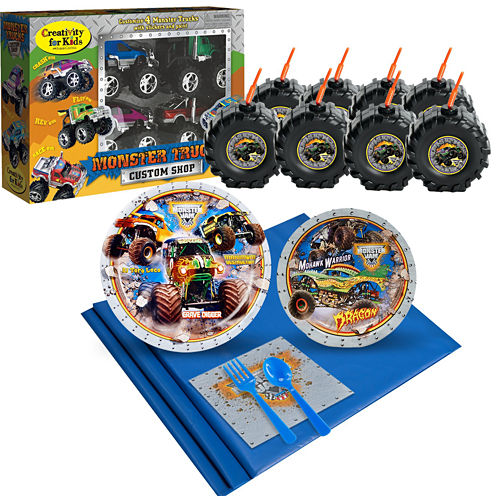 Monster Jam Ultimate Experience Party Pack for 8