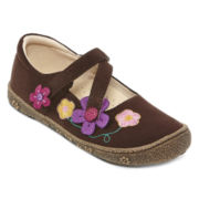 Okie Dokie® Bryn Girls Flats - Toddler