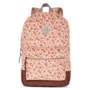 Olsenboye® Floral Ditsy Print Corduroy Dome Backpack