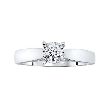 jcpenney.com | TruMiracle® ½ CT. T.W. Diamond Engagement Ring