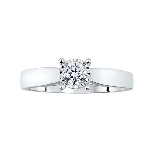 TruMiracle® ½ CT. T.W. Diamond Engagement Ring