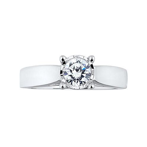 TruMiracle® 1 CT. T.W. Diamond Engagement Ring
