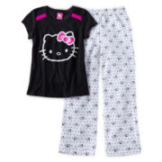 Hello Kitty® 2-pc. Sleepwear Set - Girls 6-14
