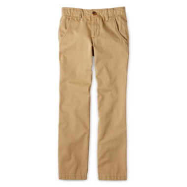 jcpenney.com | Arizona Flat-Front Chino Pants - Boys 8-20, Slim and Husky
