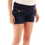 Maternity 5-Pocket Shorts