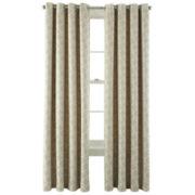 MarthaWindow™ Hampton Lattice Grommet-Top Curtain Panel