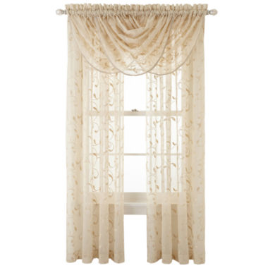 jcpenney.com | Royal Velvet® Harmon Sheer Window Treatments