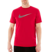 Nike® NA Swoosh Dri-FIT Cotton Tee