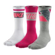 Nike® 3-pk. Dri-FIT Fly Crew Socks – Big & Tall
