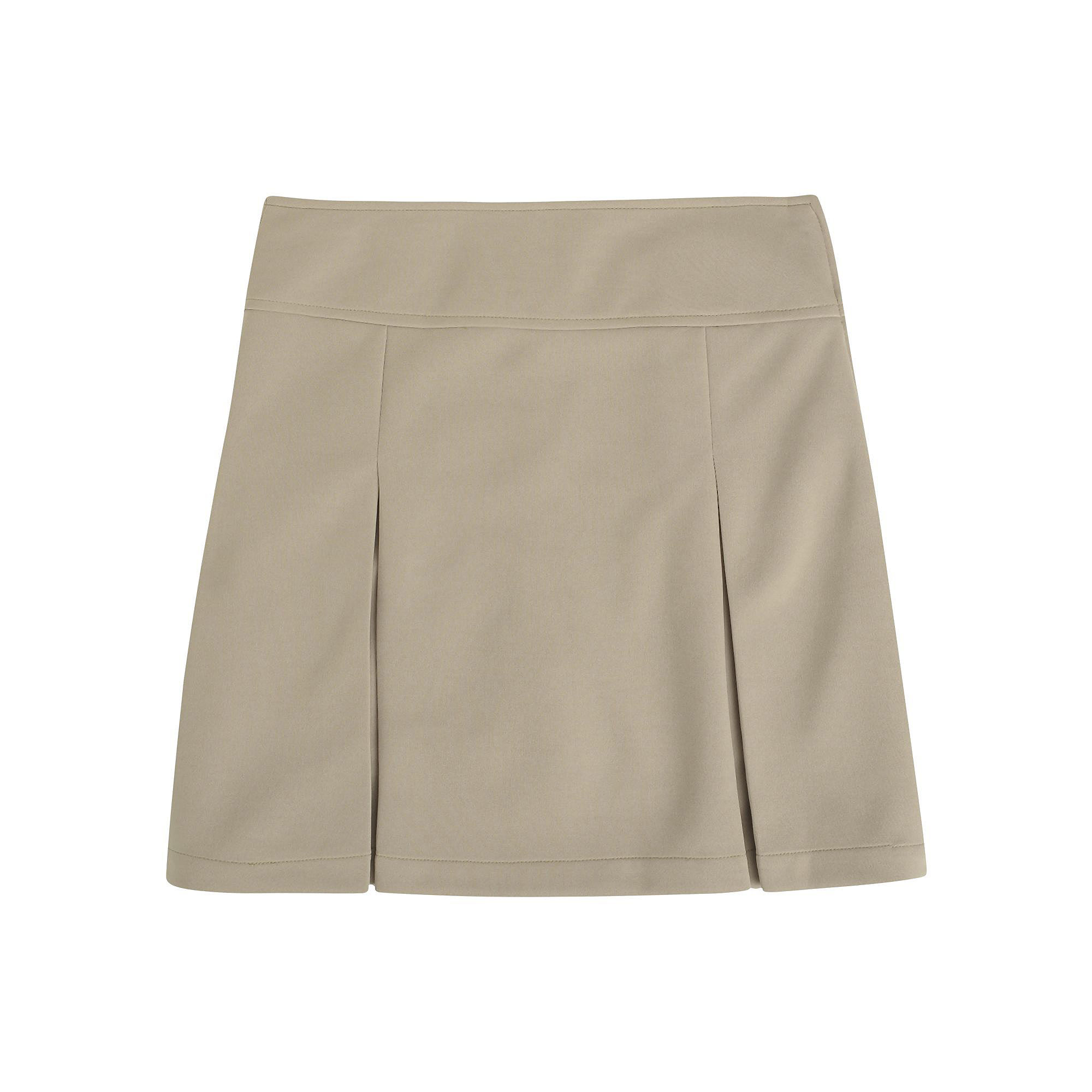 French Toast Kick-Pleat Scooter-Skirt- Girls 7-20 and Plus plus size,  plus size fashion plus size appare
