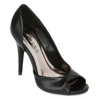 jcpenney.com | Bakers Darcee Open-Toe Pumps
