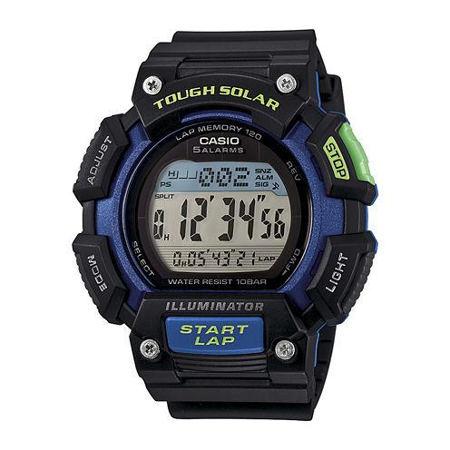 Casio® Tough Solar Illuminator Mens Runner Sport Watch STLS110H-1B